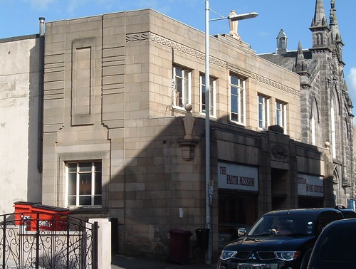 Canmore Street Building From Left