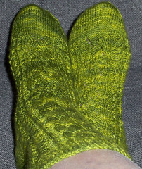 Croc sock - Finished