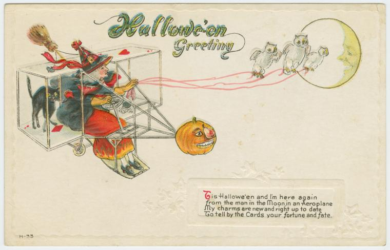 Halloween Postcards – The Public Domain Review