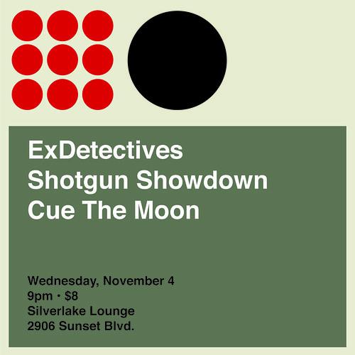 Flyer for 4 Nov 2009 -  Silverlake Lounge