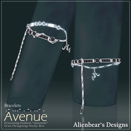 Avenue bracelets black