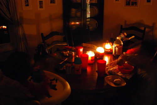 Dining by Candlelight