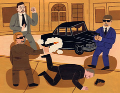Secret Service (Jack Teagle) Tags: street car panic deadman shooting secretservice gunfire secretpolice rotopol
