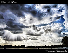 My Ray Of Hope /  (AmpamukA) Tags: light sky cloud sun hope ray blach my of       ampamuka    peregrino27newvision