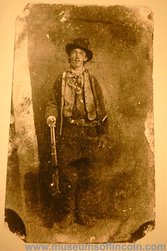billy the kid. Billy the Kid tintype