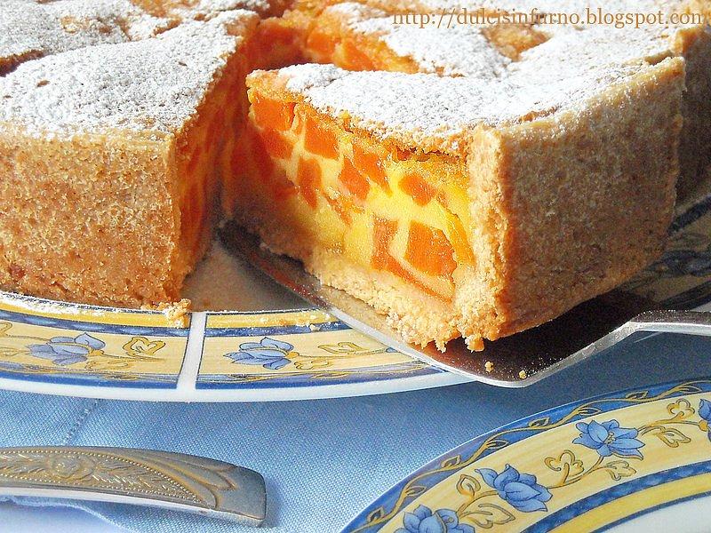 Crostata di Zucca- Pumpkin Tart
