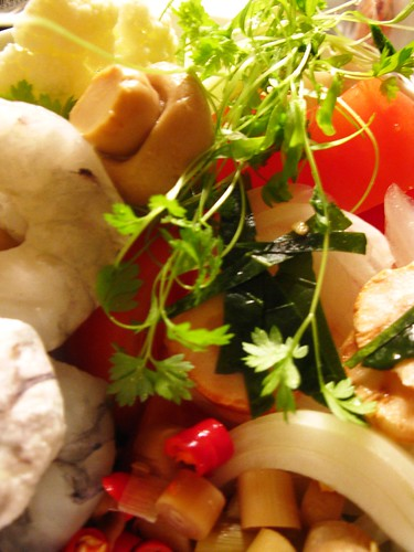 Tom Yam Soup Ingredients