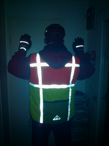 Prepared for winter riding