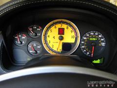 Ferrari F430 Spider Speedometer (Left Coast Classics & Exotics) Tags: auto california car speed spider bordeaux 2006 ferrari exotic speedometer luxury gauges f430 leftcoastexotics grigiosilverstone