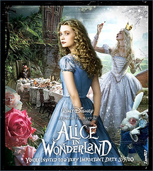 56. Tim Burton  Alice In Wonderland (Isael107) Tags: wood las en movie poster de tim alicia very you 5 alice magic el bosque pelicula trailer date depp wonderland marzo important pais burton 2010 jhonny invited maravillas in tarea isael107
