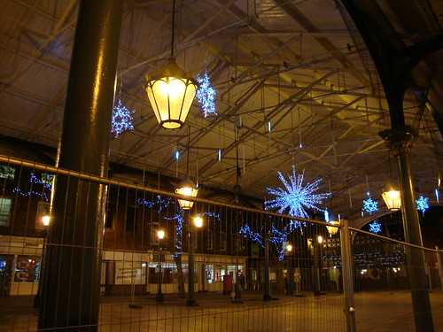 Christmas lights in Warrington