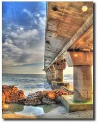 PIER_1 (smee.bruce) Tags: sea beach canon coast pier hdr portelizabeth summerstrand g10