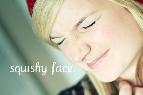 oh, hi, squishy face.