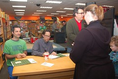 They Might Be Giants at Borders Books, Braintree MA (Chris Devers) Tags: ma books bookstore theymightbegiants 2009 tmbg borders picnik braintree johnflansburgh johnlinnell martybeller braintreema massahusetts cameranikond50 exif:exposure_bias=0ev exif:exposure=0017sec160 exif:focal_length=18mm lens18200vr exif:aperture=f40 camera:make=nikoncorporation exif:flash=autofiredreturndetected camera:model=nikond50 meta:exif=1259851616 lastfm:event=1322283 metaseenonposterous meta:seen=elsewhere exif:lens=18200mmf3556 exif:filename=dscjpg exif:vari_program=auto exif:shutter_count=38825 meta:exif=1350399846