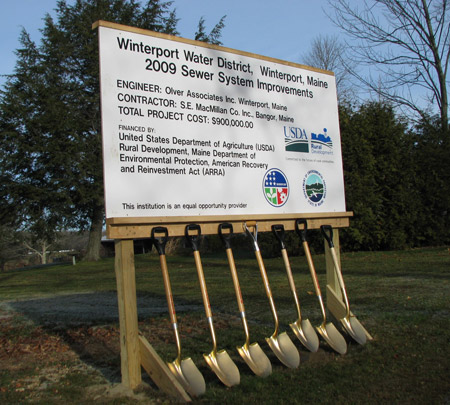 Wintersport sign