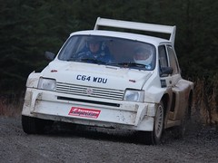 MG Metro 6R4 (dave millers photos) Tags: metro rally stages mg 2009 6r4 grizedale