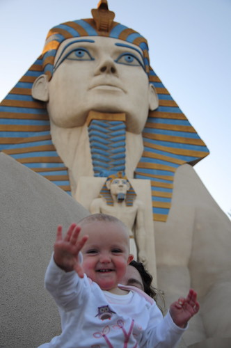 Youre never to young for your first Vegas trip, Baby!