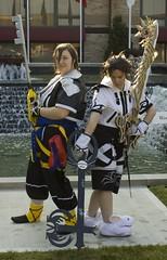 IMG_0087 (Quinlaar) Tags: girl cosplay across kingdomofhearts across2009 animecrossroads animecrossroads2009