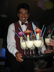 Cocktails from Rodrigo - Seaman II - near Islas Plazas -  Galapagos Islands (Roubicek) Tags: vacation holiday ecuador honeymoon galapagos cocktails rodrigo equador seaman galapagosislands seaman2 seamanii