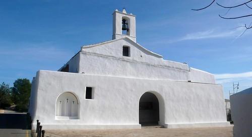 Esglesia de Sant Llorenç de Balafia, Eivissa, Ibiza por Porschista.