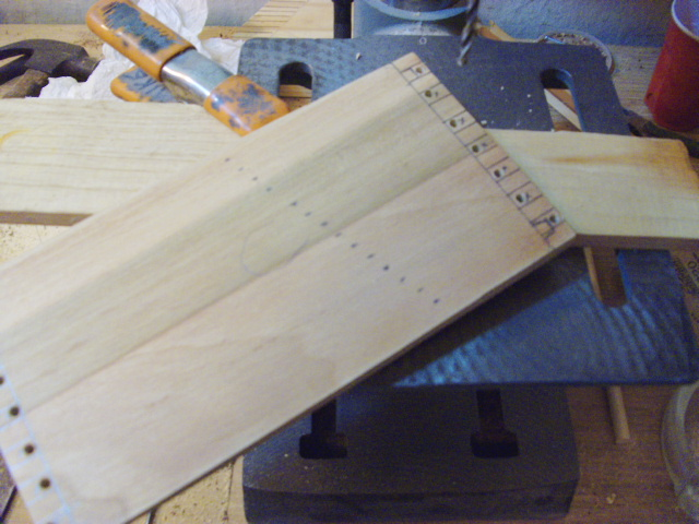 Drilling Maneuvering Holes for the Scroll Saw Blade