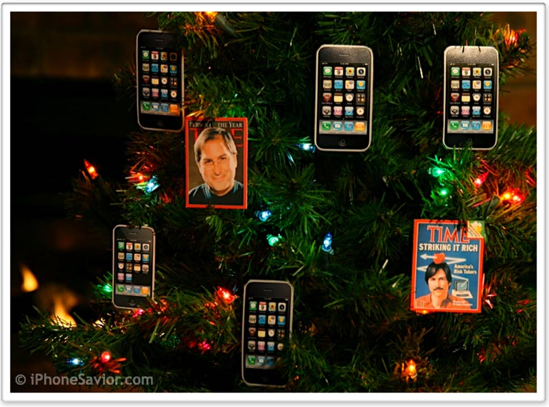 iPhone Christmas Tree Joy