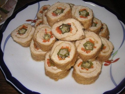 Abura-age ( Deep Fried Tofu ) Roll