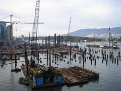 Pre-Convention (parker yo!) Tags: vancouver construction coalharbour conventioncentre
