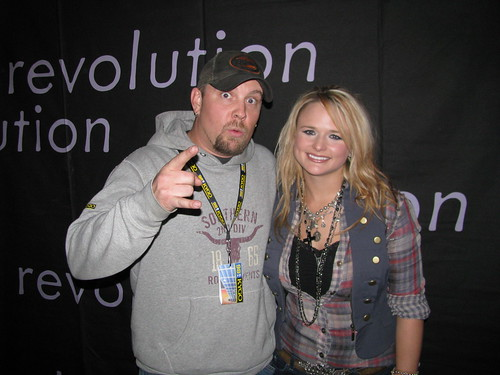 Concert review miranda lambert grizzly rose denver 120909 no miranda lambert poses with an unidentified ran fan at the pre show meet and greet then there was wray the bands big daddy and the only remaining m4hsunfo