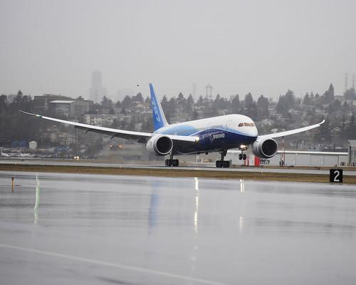 B787 DREAMLINER First flight