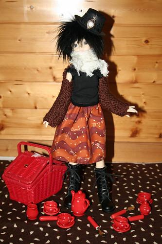 Teaparty doll skirt