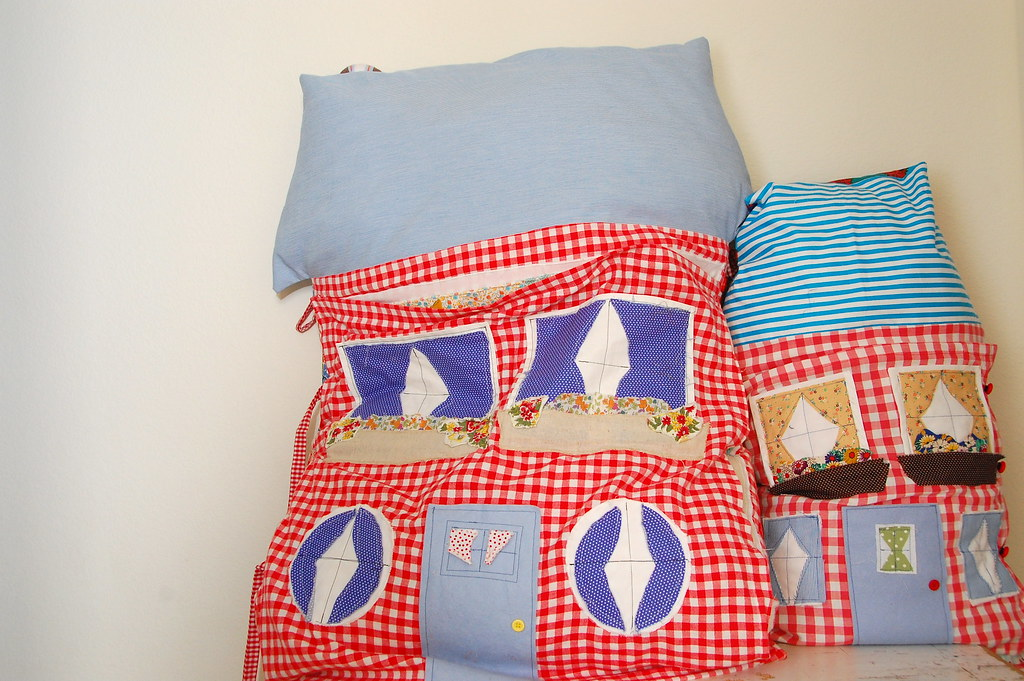 brave's pillow and bela's pillow
