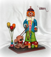 PAYASO (ERSA Creativa) Tags: pasta biscuit flexible fria porcelana