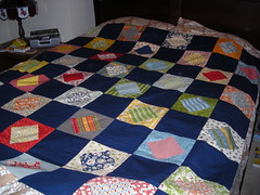 Wee Play Charm Square Quilt