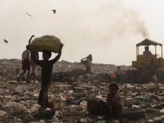 Kolkata Waste Dump Vision * (Sterneck) Tags: kolkata slum realities waste dump vision calcutta kalkutta politics politik slums india müllsammler ragpickers müllkippe mülldepnie hope liluah armut indien teilen share community social activists visions change ragpicker