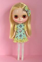 ice cream dress lemon