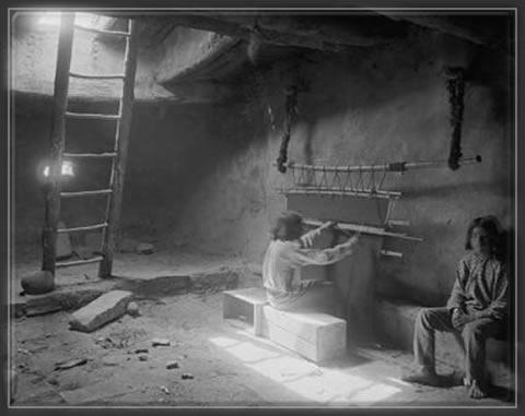 Walpi kiva interior