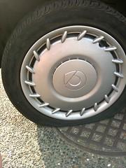 Flat tire is flat