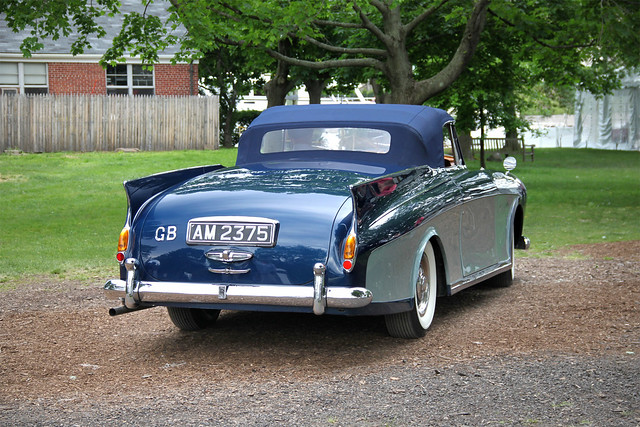 Rolls-Royce Silver Cloud I Drophead Coupe by Freestone & Webb, 1957