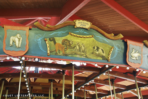 houston zoo carousel