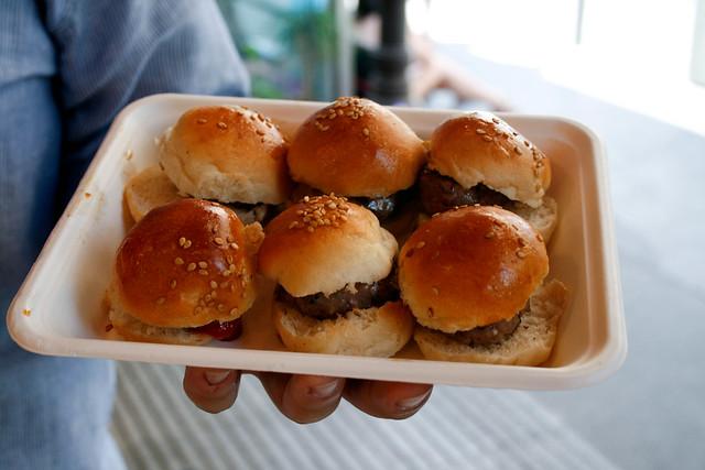 Mini hamburguesas de Raza Nostra
