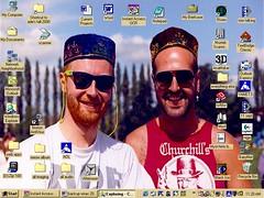 28 Jan. 2001: Desktop Screencap (ade peever) Tags: desktop view windows98