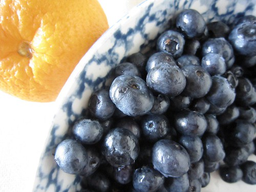Blueberry and orange, take two