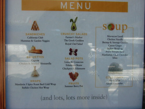 Pret Summer Light Menu