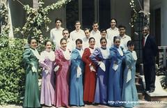 Conjunto Folclórico de la Universidad Educares, Sede Viña del Mar, abril de 1994.