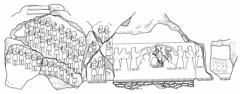 Kurangun by  Herzfeld (dynamosquito) Tags: sculpture mountain montagne ancient iran god goddess persia carving archeology elam basrelief ancien perse archéologie fars sheme iranshahr rockrelief elamite panasoniclumixdmcfz50 ancientiran shéma dynamosquito inshushinak elamiteart iranancien kurangun fahlian sehtalan dashterostamedo kuheparaweh napirisha ernstherzfeld