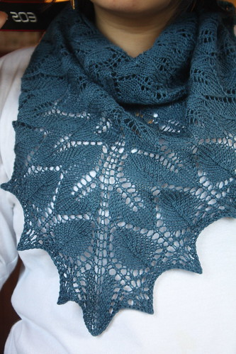 Norwegian Wood Shawl