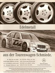 Mercedes-Benz C 36 AMG (1994) (jens.lilienthal) Tags: auto old cars car print advertising mercedes benz media reclame c ad voiture advertisement mercedesbenz older autos 1994 werbung 36 dtm mb reklame amg motorsport voitures anzeige cclass cklasse w202