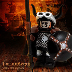 The Pale Masque (Morgan190) Tags: sky castle skull lego pirate minifig viking steampunk minifigure skyfi morgan19 thunderheadmarauders
