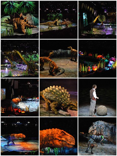 Some views from Walking with Dinosaurs